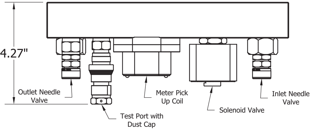 ASI Hammer Injection Block Dimensions Side